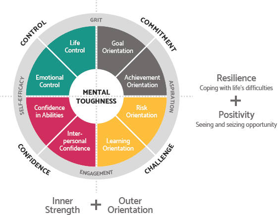 MQTPlus Mental Toughness diagram